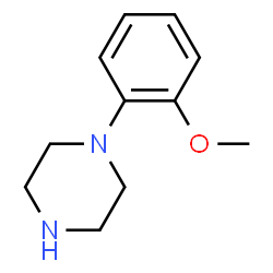 ChemSpider 2D Image | 1-(O-ANISYL)PIPERAZINE | C11H16N2O
