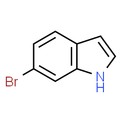 ChemSpider 2D Image | 6-Bromoindole | C8H6BrN
