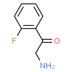 ChemSpider 2D Image | 2-Amino-1-(2-fluorophenyl)ethanone | C8H8FNO