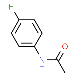 ChemSpider 2D Image | 4-Fluoroacetanilide | C8H8FNO